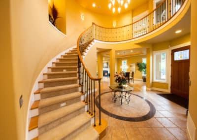 Staircase to Rotunda